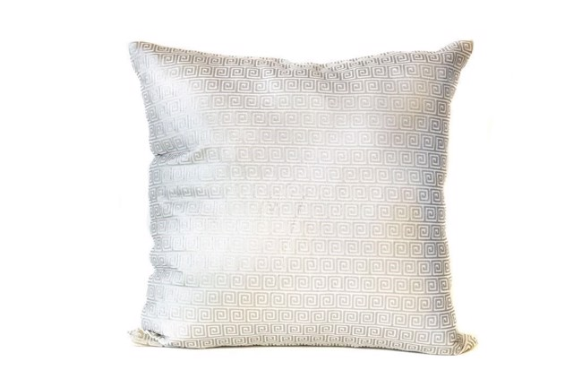 Image of   Ivory silver khari pude 50x50 cm fra THG Home & Interior
