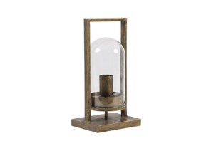 Jelle bordlampe 32,5 cm i antik bronze fra Light & Living
