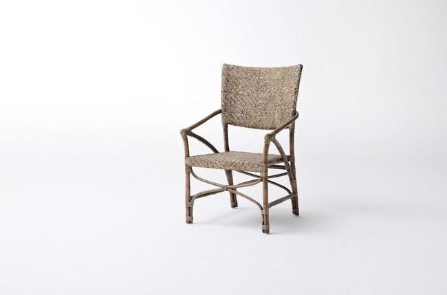 Image of   Jester stol i flettet kubu rattan fra Novasolo