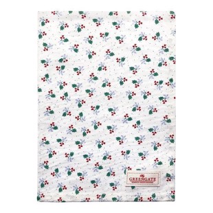 Greengate viskestykke - Tea towel Joselyn white