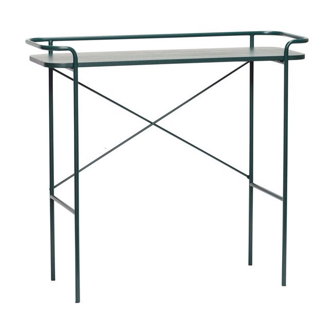 Image of   Konsolbord, metal, grøn fra Hübsch