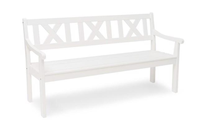Läckö 3 personers sofa i hvid fra Hillerstorp