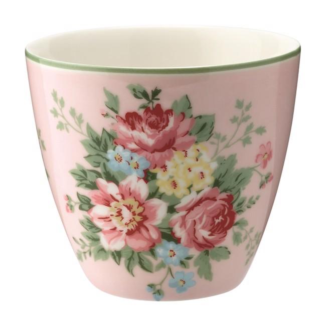 Image of   Greengate lattekop - Latte cup Aurelia pale pink
