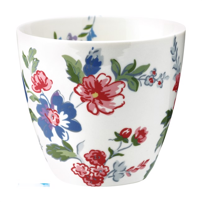Image of   Greengate lattekop - Latte cup Isobel white