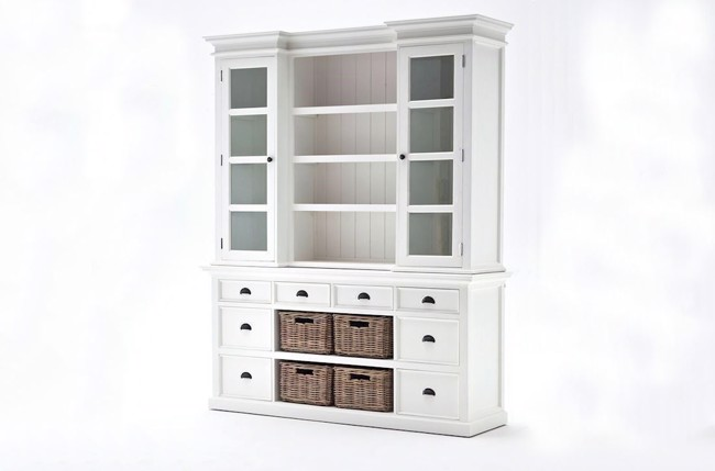 Image of   Library Hutch hvid reol fra Novasolo