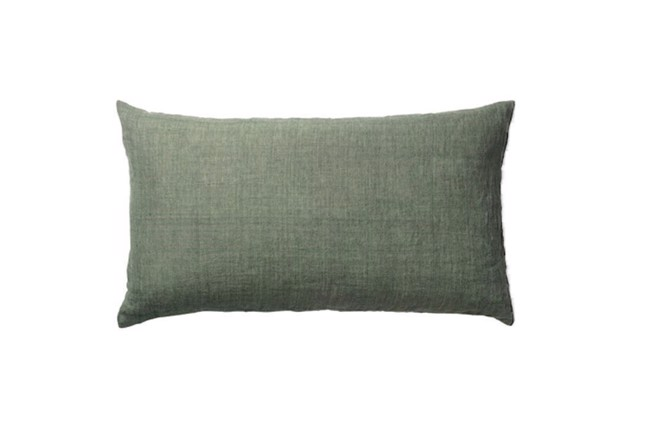 Image of   Linen Head Board pude i farven Army fra Cozy Living