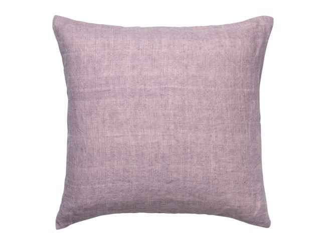 Image of   Luxury Light Linen pude 50x50 cm - Violet fra Cozy Living