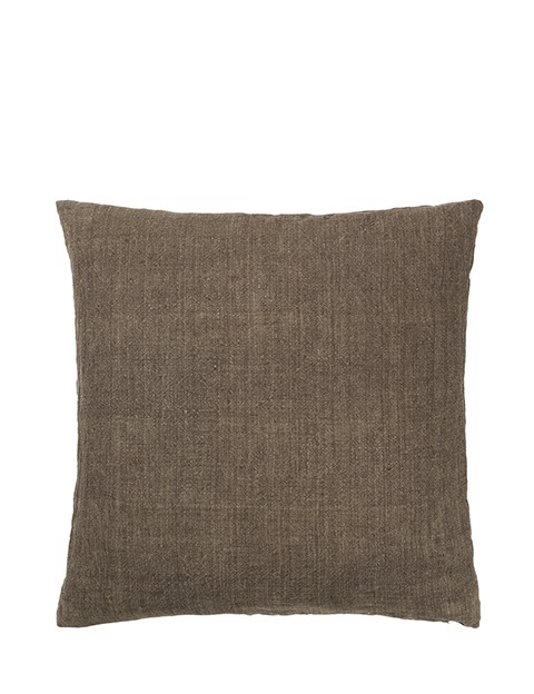 Image of   Luxury Light Linen pude 50x50 cm - Chestnut fra Cozy Living