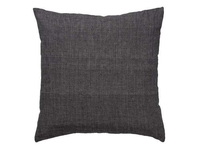 Image of   Luxury Light Linen pude 50x50 cm - Coal fra Cozy Living