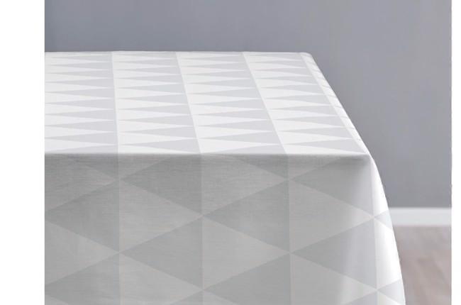 Fantastisk Little Hills damask dug 140x270 cm i optisk hvid fra Sødahl PN01