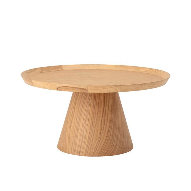 Image of   Luana sofabord, egetræ, Ø74 cm fra Bloomingville