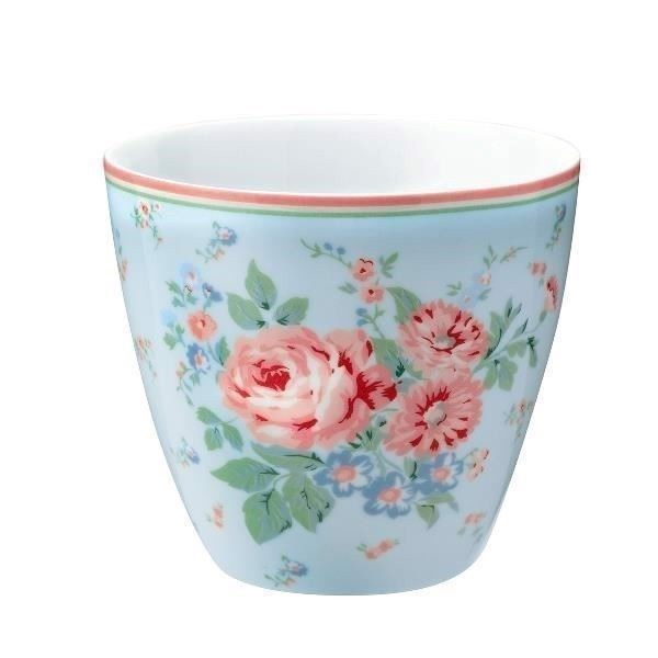 Image of   Greengate lattekop - Latte cup Marley pale blue