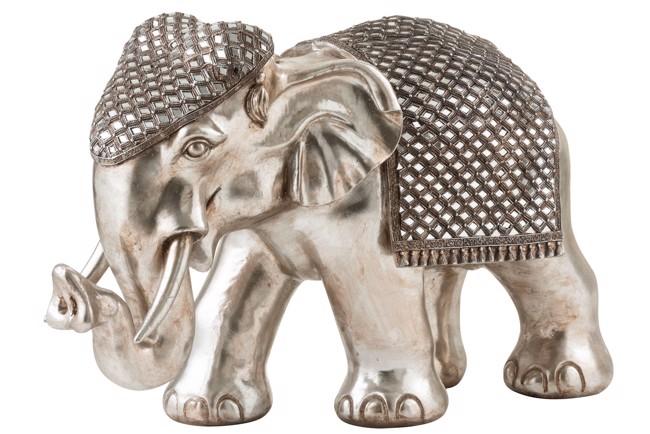 Image of   Mirror elefant sølv X-large fra J-Line