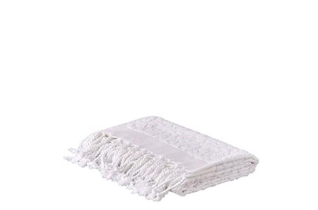 Image of Naxos håndklæde 2 stk. hvidt 70x130 cm fra Affari