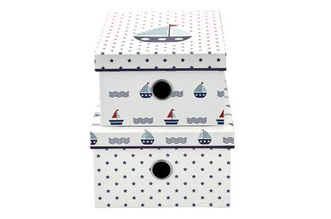Image of   Noah opbevaringskasser 2 stk fra Greengate