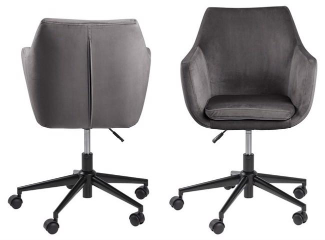 Image of   Nora kontorstol grå fra Actona Company