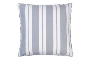 Nordic striped cotton pude 50x50 cm Flint fra Cozy Living