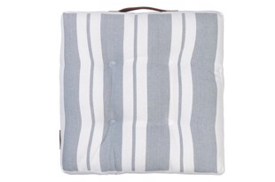 Nordic striped cotton seat Flint 42x42 cm fra Cozy Living