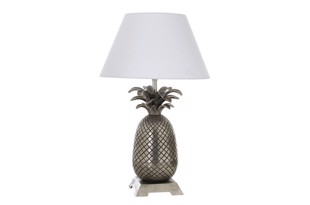 Pineapple bordlampe i antik sølv fra THG Home & Interior