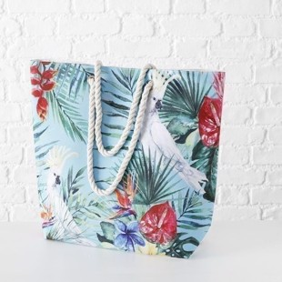 Playa Parrot strandtaske multifarvet fra Botze Home Collection
