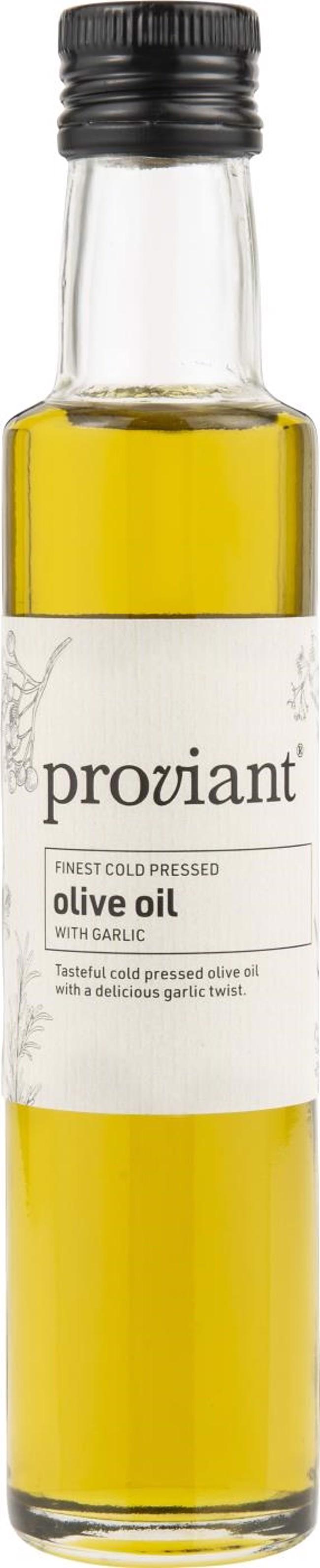 Image of   Proviant olivenolie med hvidløg 250 ml fra Ib Laursen