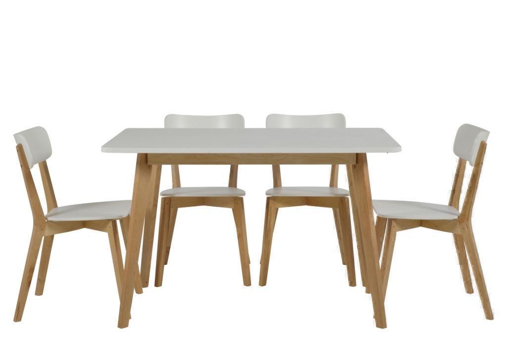 runde spiseborde hvidt