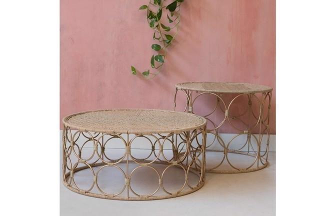 Image of   Ring sæt med 2 borde fra Zenza