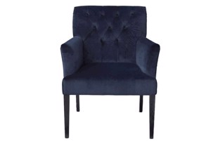 Sander armstol i farven royal blue fra Cozy Living