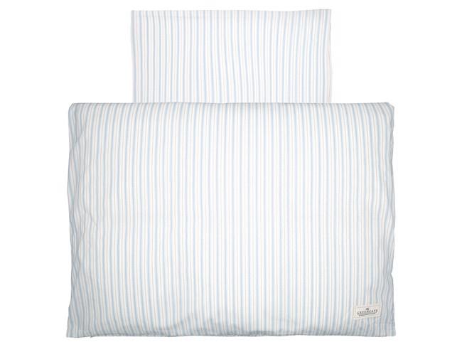 Image of   Sari baby sengesæt i pale blue 70x100 cm fra GreenGate