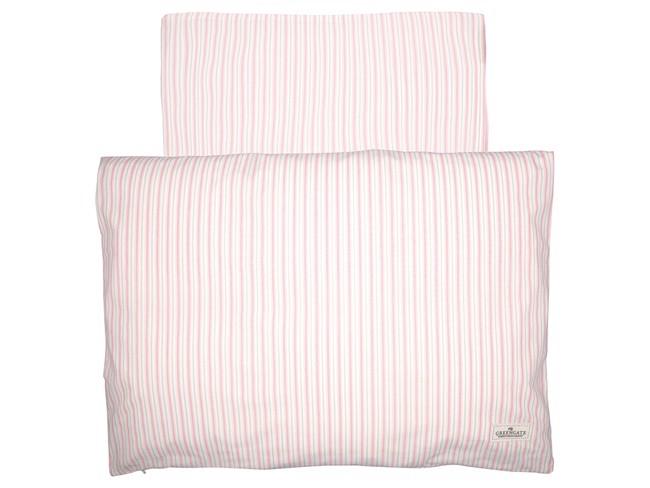 Image of   Sari baby sengesæt i pale pink 70x100 cm fra GreenGate