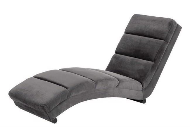 2e370f3963d Slinky chaiselong lænestol mørkegrå fra Actona Company