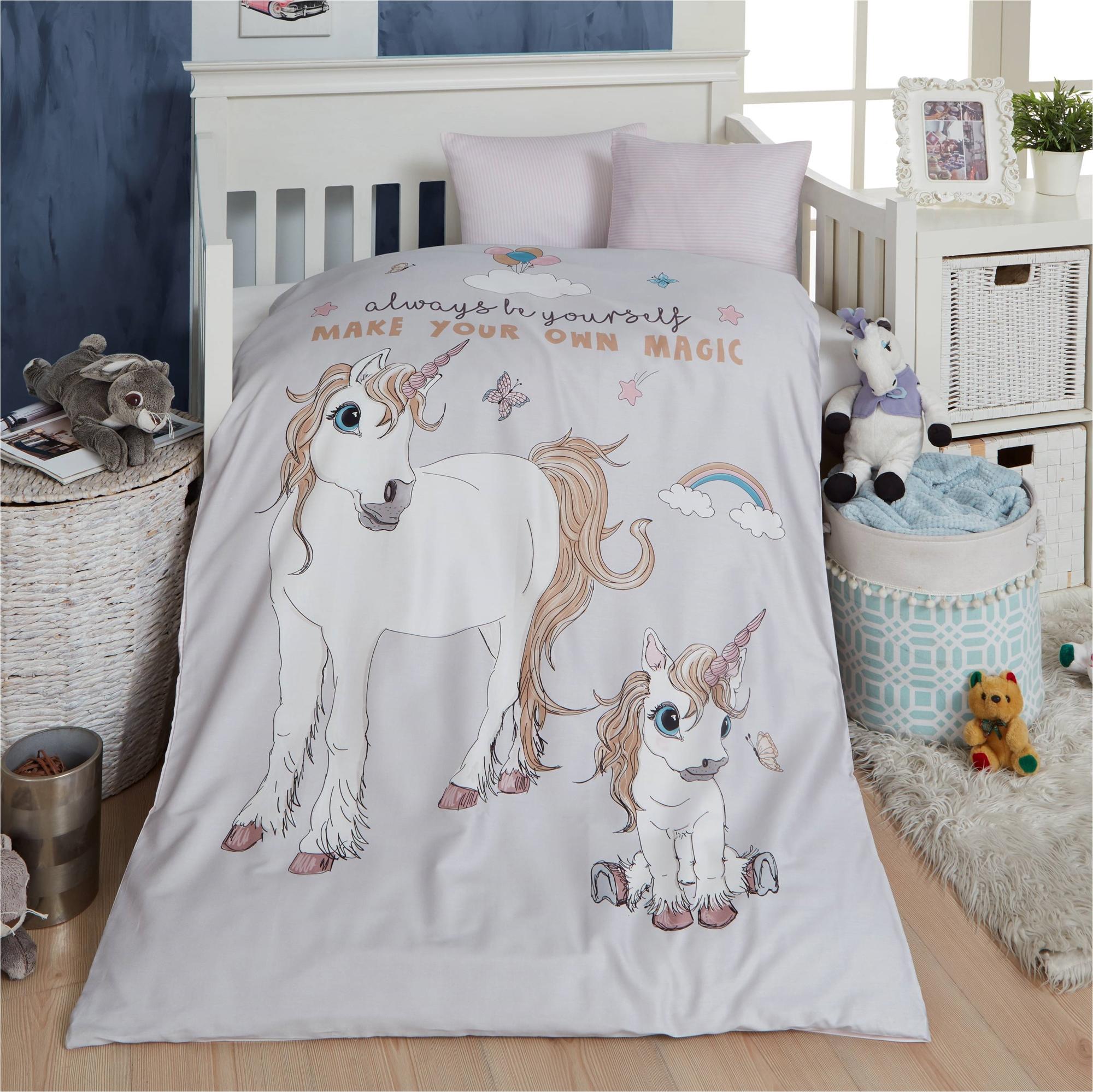 Picture of: Baby Sengetoj Unicorn 70×100 Cm Fra By Skagen