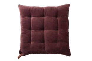 Velvet smuk velourhynde 45x45 cm i heather rose fra Cozy Living