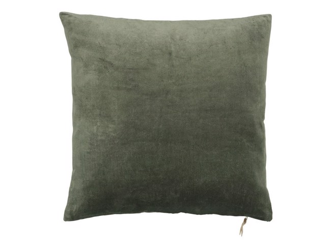 Image of   Velvet Soft pude 50x50 cm - ARMY fra Cozy Living