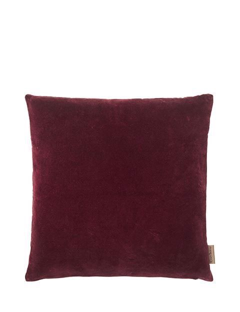 Image of   Velvet Soft pude 50x50 cm - CHERRY fra Cozy Living