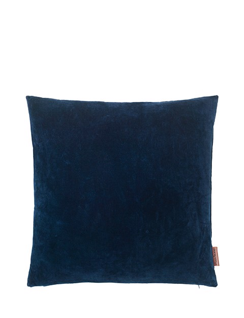 Image of   Velvet Soft pude 50x50 cm - MIDNIGHT fra Cozy Living