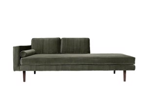 Wind chaiselong sofa grape leaf fra Broste