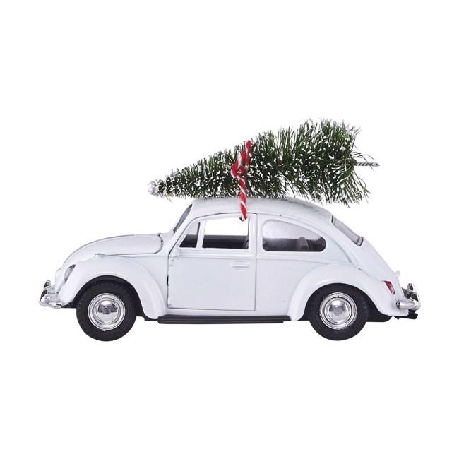 Image of   Xmas car hvid L12,5 cm fra House Doctor