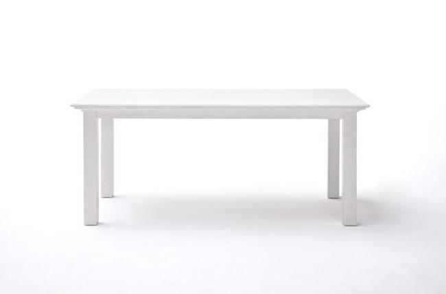 Image of   Halifax spisebord i hvid 90x160cm fra Novasolo