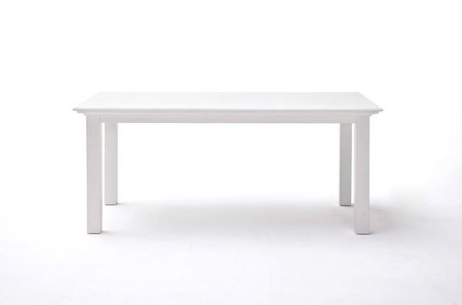 Image of   Halifax spisebord i hvid 90x180cm fra Novasolo