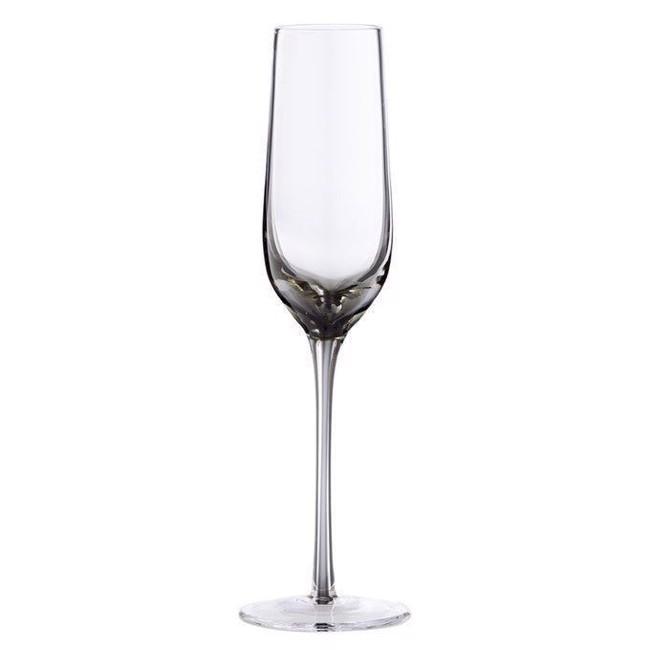 Image of   Victorinne champagneglas røgfarvet - sæt med 6 stk. fra Lene Bjerre